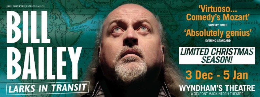 Bill Bailey - Larks in Transit breaks