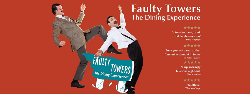 Faulty Towers - The Dining Experience breaks