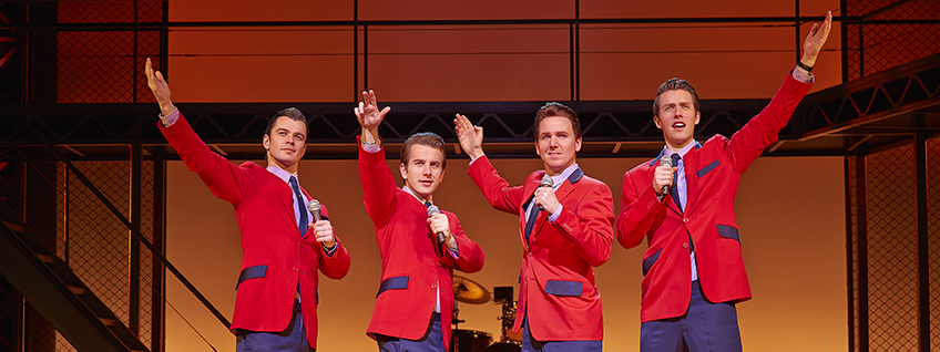 Jersey Boys breaks
