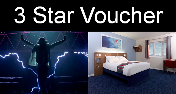 Gift voucher. Includes top priced tickets to a choice of London shows (including Wicked, Phantom of the Opera, Thriller, Motown and many more).